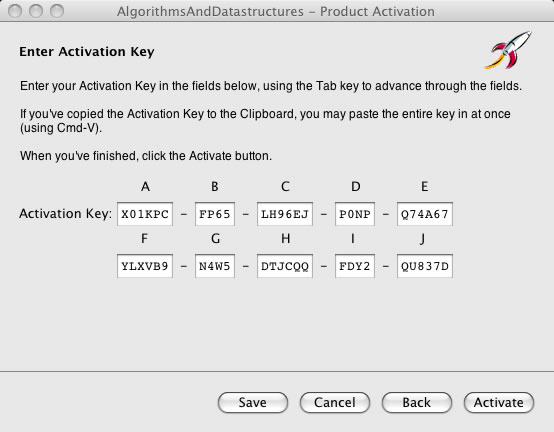 Activation Key Pasted